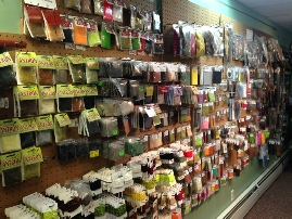 Evening Sun Fly Shop - fly tying materials - dubbing, chenile, etc.